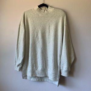 American Eagle Mock Neck Oversized Sweater